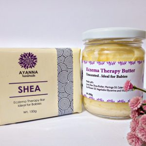ECZEMA THERAPY DUO PACK (Contains Shea Bar and Eczema Therapy Butter)